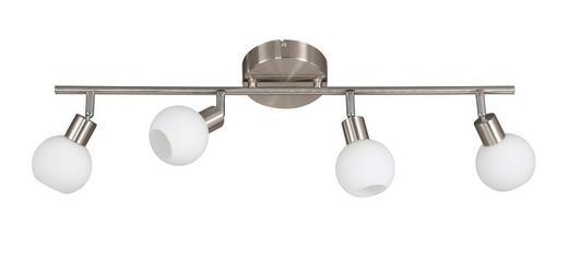 LED-STRAHLER - Nickelfarben, Design, Metall (80/19,5cm)