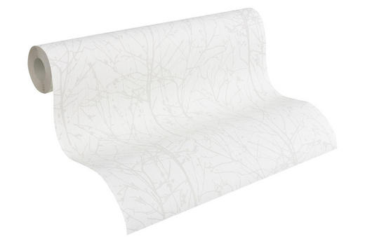 VLIESTAPETE 10,05 m - Beige/Weiß, Basics, Textil (53/1005cm) - Esprit
