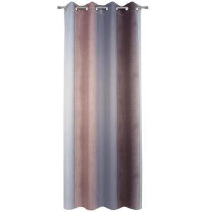 ÖLJETTLÄNGD - grå/rosa, Klassisk, textil (135/245cm) - Esposa