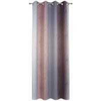 ZÁVĚS HOTOVÝ - šedá/růžová, Konvenční, textilie (135/245cm) - Esposa