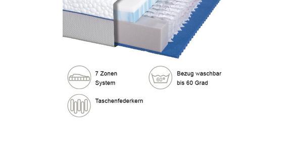TASCHENFEDERKERNMATRATZE 90/200 cm  - Basics, Textil (90/200cm) - Dieter Knoll