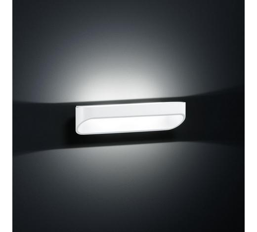 WANDLEUCHTE - Weiß, LIFESTYLE, Metall (7/30/9cm)