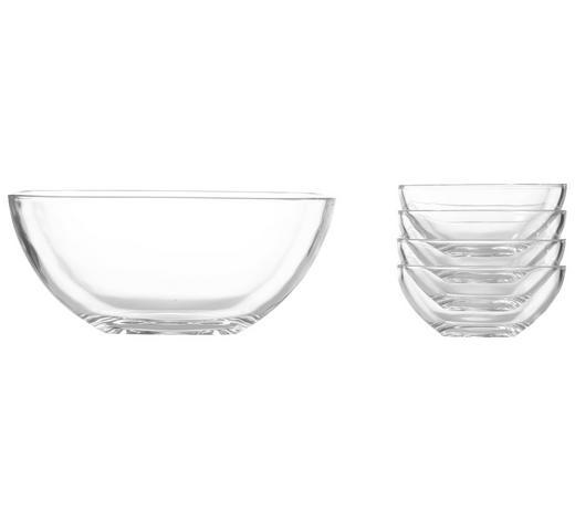 SCHÜSSELSET Glas 5-teilig  - Klar, Basics, Glas - Nachtmann