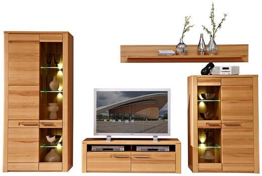 wohnwand kernbuche massiv buchefarben online kaufen ➤ xxxlutz, Design ideen