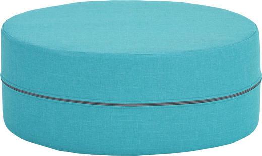 HOCKER Blau - Blau, Design, Textil (50/20cm) - CARRYHOME