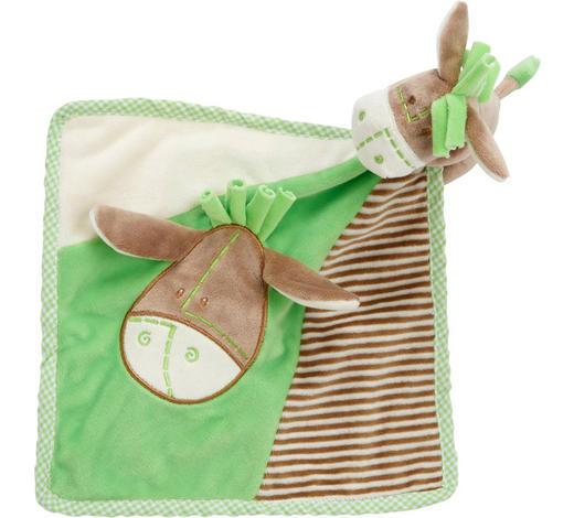 ŠÁTEK MAZLÍCÍ - zelená, Basics, textil (25/25cm) - My Baby Lou