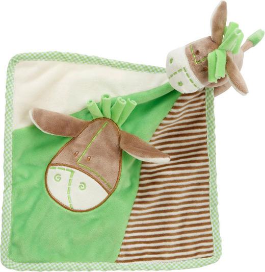 SCHMUSETUCH - Grün, Basics, Textil (25/25cm) - MY BABY LOU