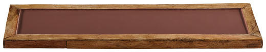DEKOTABLETT - Rostfarben, Metall (50/2/16,5cm)