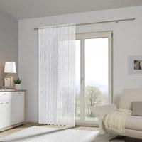 FERTIGVORHANG transparent - Weiß, KONVENTIONELL, Textil (135/245cm) - Esposa