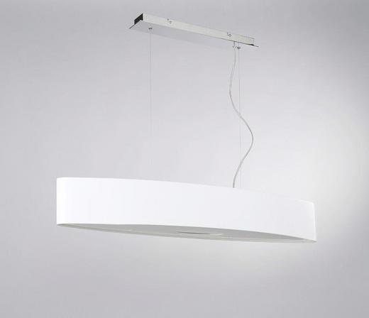 LED-HÄNGELEUCHTE, EXKL. SCHIRM - Chromfarben, Design, Metall (100/25/150cm) - Joop!