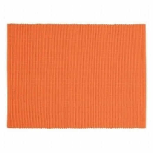TISCHSET - Orange, Basics, Textil (35/46cm) - Linum