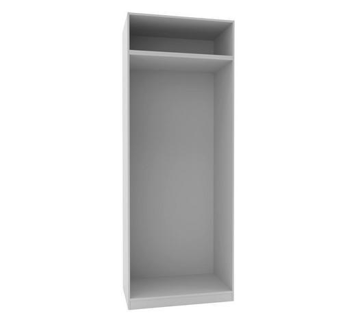 KLEIDERSCHRANKKORPUS - Weiß, MODERN, Holzwerkstoff (91,1/242,2/56,5cm) - Hom`in