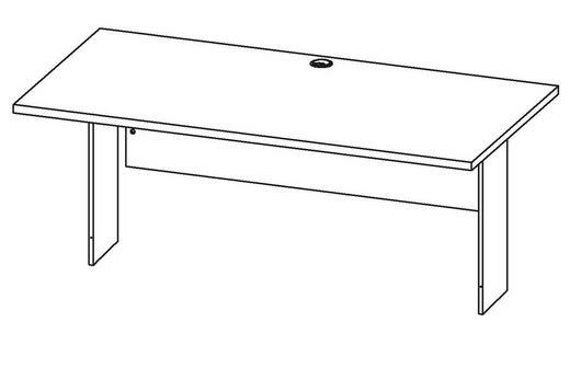 Schreibtischplatte weiß  SCHREIBTISCHPLATTE Weiß online kaufen ➤ XXXLutz