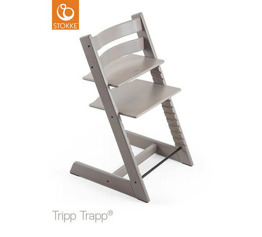 HOCHSTUHL Tripp Trapp - Grau, LIFESTYLE, Holz (46/79/49cm) - Stokke