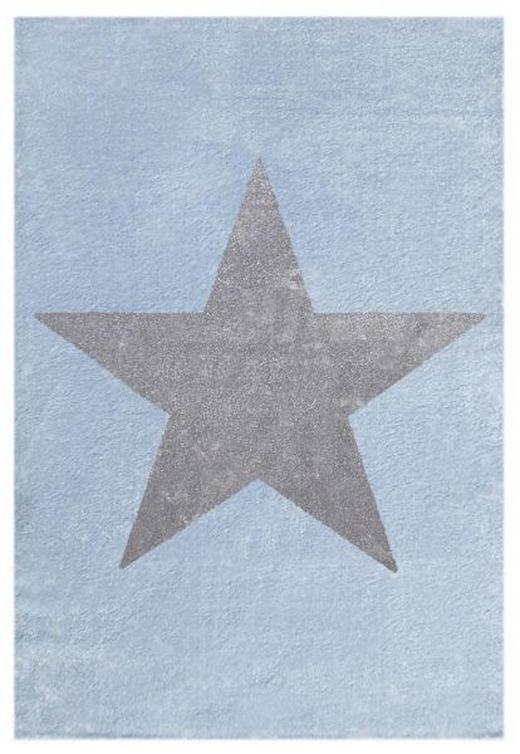 KINDERTEPPICH  120/180 cm  Blau, Grau, Silberfarben - Blau/Silberfarben, Basics, Textil (120/180cm)