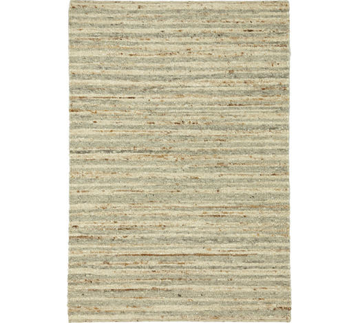 Handwebteppich 170/230 cm  - Naturfarben, Natur, Textil (170/230cm) - Linea Natura