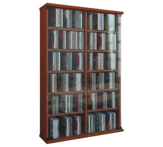 CD-REGAL Kirschbaumfarben  - Kirschbaumfarben, KONVENTIONELL, Glas/Holzwerkstoff (60/92/18cm)