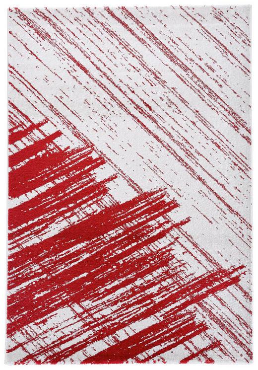 WEBTEPPICH   Rot, Weiß - Rot/Weiß, Basics, Textil/Weitere Naturmaterialien (160/230cm) - Novel