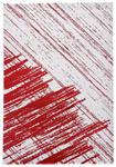 WEBTEPPICH  120/170 cm  Rot, Weiß - Rot/Weiß, Textil/Weitere Naturmaterialien (120/170cm) - Novel