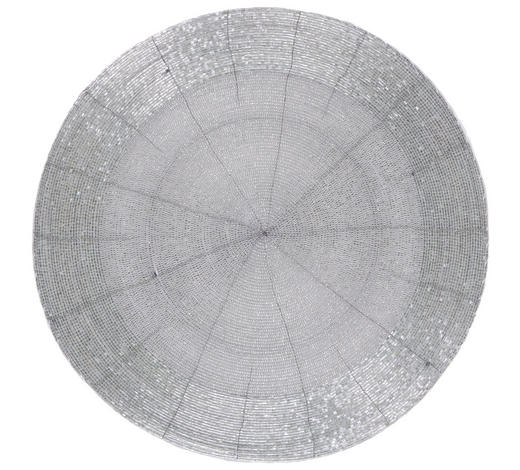 PROSTÍRÁNÍ - barvy stříbra, Design, sklo (35cm) - Ambia Home