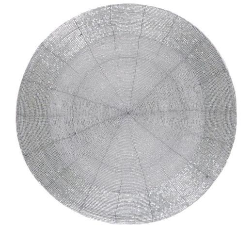 TISCHSET Glas - Silberfarben, Design, Glas (35cm) - Ambia Home