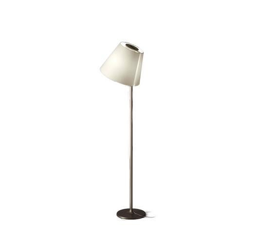 MELAMPO TERRA 0123020A - Weiß/Bronzefarben, Design, Kunststoff/Textil (35/163cm) - Artemide