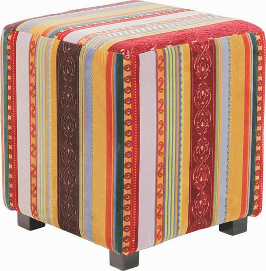 SITZWÜRFEL Flachgewebe Streifen Multicolor - Multicolor, Design, Textil (40/41/40cm) - KARE-Design
