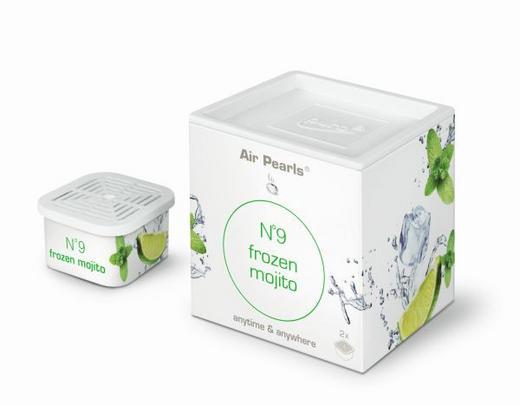 RAUMDUFT FROZEN MOJITO - Weiß, Basics, Kunststoff (5,5/5,5/5,5cm) - Ipuro