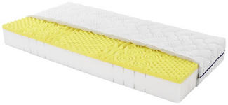 Komfortschaummatratze Yoga Feel 140x200cm H2 - Weiß, Textil (140/200cm) - Primatex