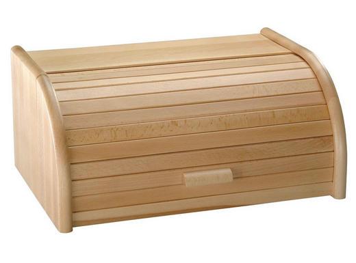 BROTKASTEN - Buchefarben, Basics, Holz (30/15/20cm) - Homeware