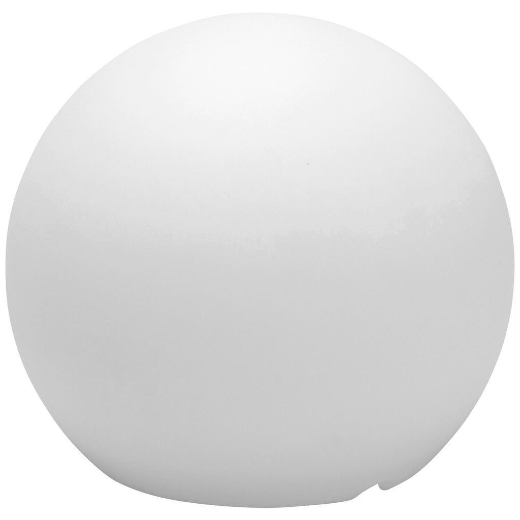 XXXL AUßENKUGELLEUCHTE, Weiß, Weiß   Lampen > Tischleuchten > Kugelleuchten   Kunststoff   XXXL Shop