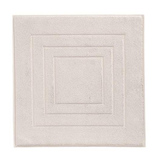 BADEMATTE in Hellgrau 60/60 cm - Hellgrau, Basics, Textil (60/60cm) - VOSSEN