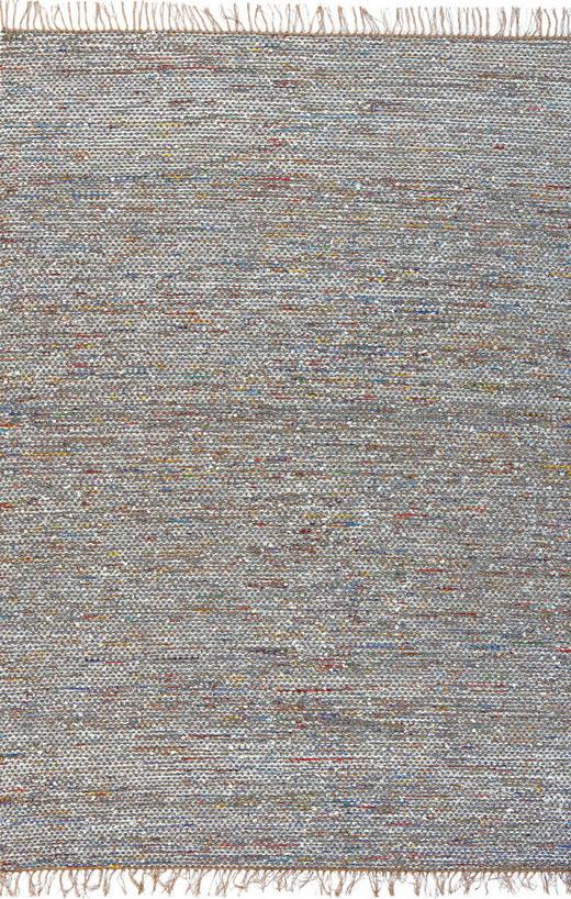 RUČNO TKANI TEPIH - višebojno, Basics, papir/daljnji prirodni materijali (80/150cm)