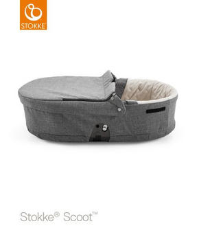 STOKKE SCOOT LIGGDEL - beige/mörkgrå, Design, textil (83/60/45cm) - Stokke