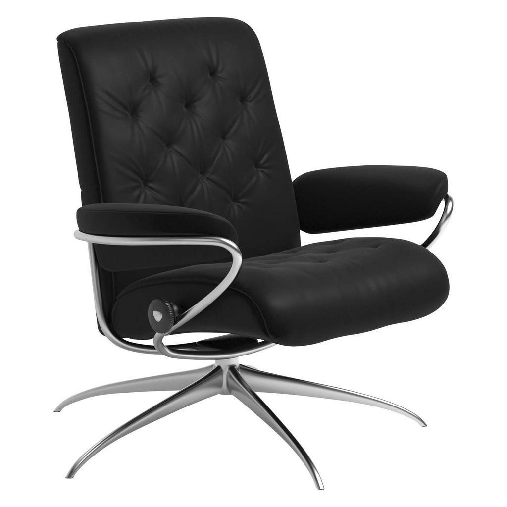 Schwarz Leder Metall Echtleder Relaxsessel Online Kaufen Mobel