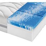 KOMFORTSCHAUMMATRATZE 160/200 cm  - Weiß, KONVENTIONELL, Textil (160/200cm) - Sleeptex