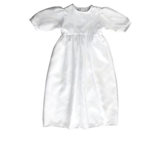 TAUFKLEID - Weiß, Basics, Textil (62/68null) - My Baby Lou