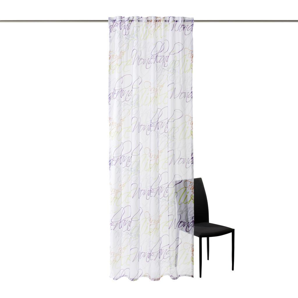 Esposa Fertigvorhang transparent 140/255 cm