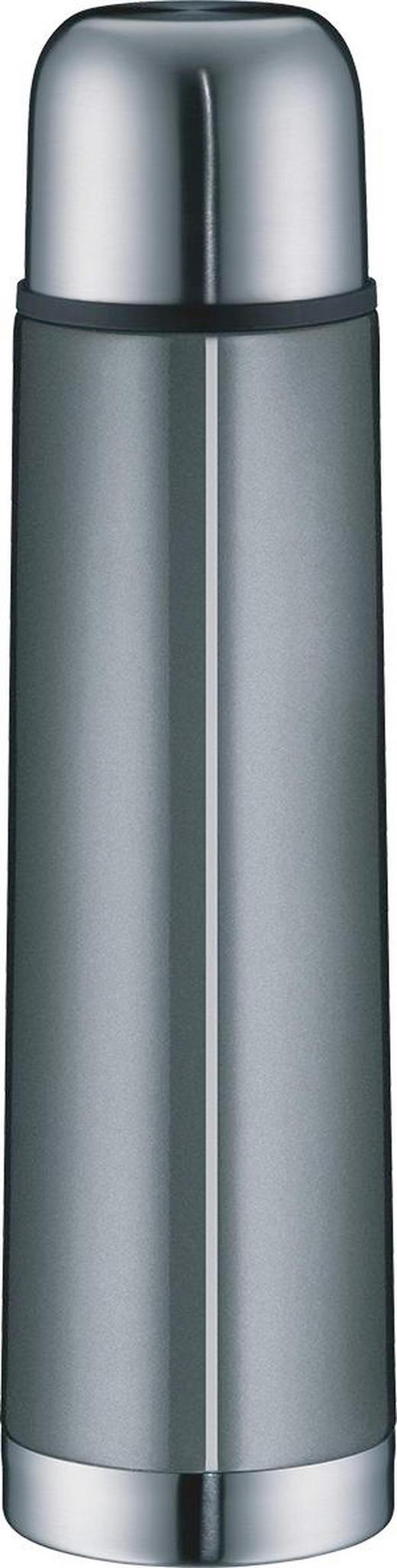 ISOLIERFLASCHE 0,75 L - Silberfarben/Grau, Basics, Metall (0,75l) - Alfi