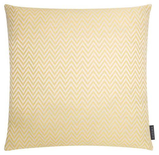 ZIERKISSEN 50/50 cm - Gelb, Textil (50/50cm)