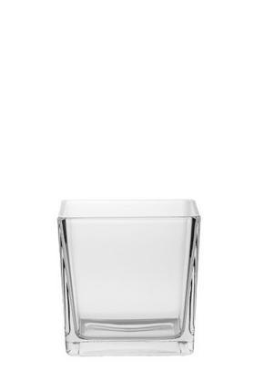 VÄRMELJUSGLAS - klar, Basics, glas (12/12/12cm) - Ambia Home