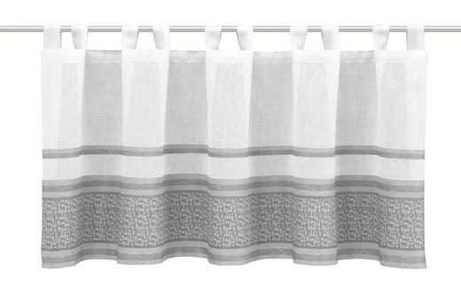 SCHEIBENGARDINE   140/45 cm - Grau, Textil (140/45cm)