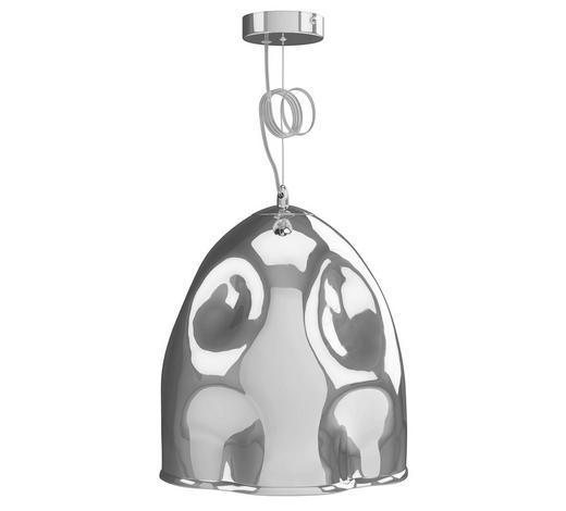 HÄNGELEUCHTE - Chromfarben, Design, Glas/Metall (30/150cm) - Dieter Knoll