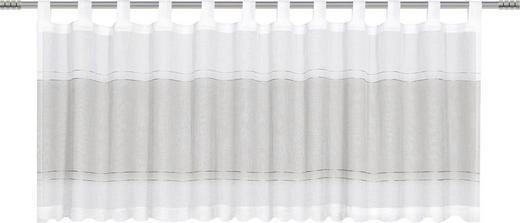 KURZGARDINE    50/140 cm - Taupe, Basics, Textil (50/140cm)