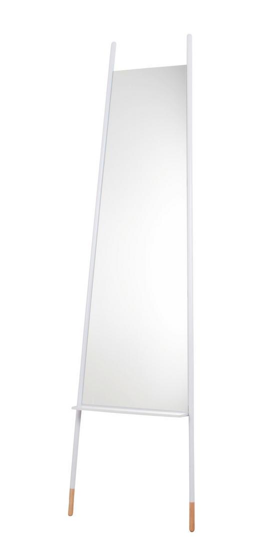 STANDSPIEGEL - Weiß, Trend, Glas/Metall (48/171/2cm)