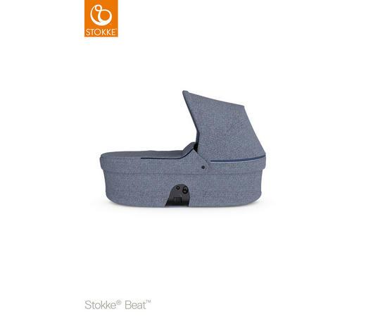 LIEGEWANNE - Blau, Basics, Kunststoff/Textil (73/44/23cm) - Stokke