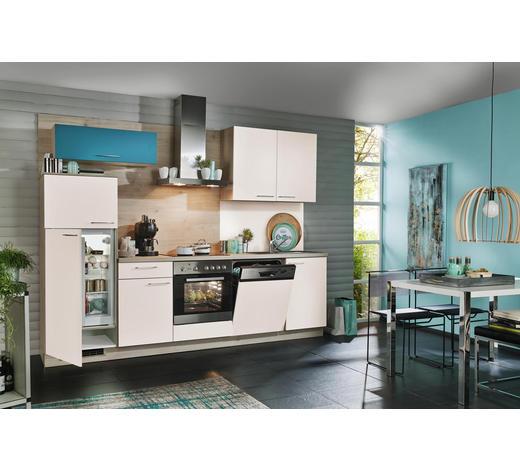 KUCHYŇSKÝ BLOK - barvy dubu/magnolie, Design, kompozitní dřevo (280cm) - Welnova