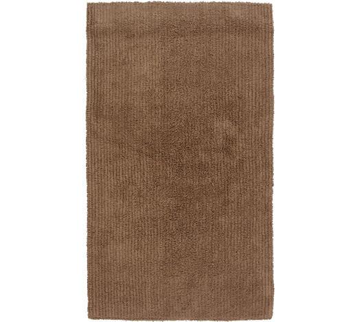 BADEMATTE in Taupe 70/120 cm - Taupe, Natur, Textil (70/120cm) - Linea Natura