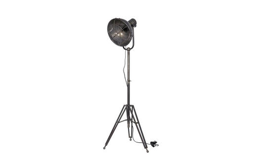 STEHLEUCHTE - Grau, LIFESTYLE, Metall (54/167/45cm)