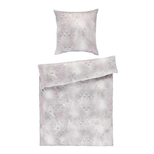 BETTWÄSCHE Jersey Silberfarben 155/220 cm - Silberfarben, Basics, Textil (155/220cm) - ESTELLA